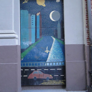 Cathedral School Mural, NYC, 2014