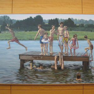"""Swimming Hole in Lake Area"" by Bill Sullivan"