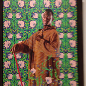 """David Lyon"" by Kehinde Wiley"